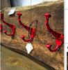 Picture of Door Hardware - Single Hook Black & Red