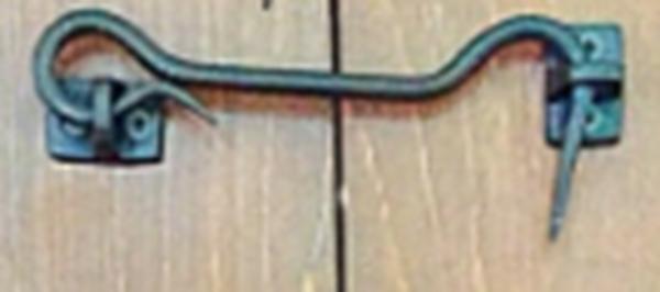 Black Steel Door Hook