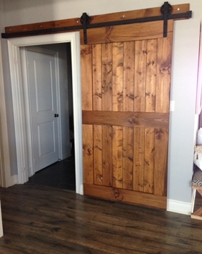 Picture of Custom Order Centre Rail Barn Door