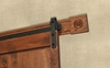 Picture of Architectural Wall Board Stain Finish Oak Fluted &  Rosettes
