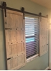 Picture of Custom Order Barn Door Window Shutters