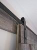Matte Black Bent Strap Hardware