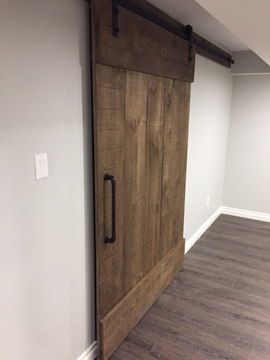 Basement Barn Door