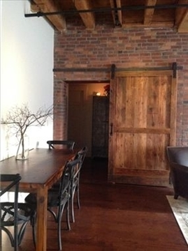Picture of Custom Order Barn Doors as Room Dividers