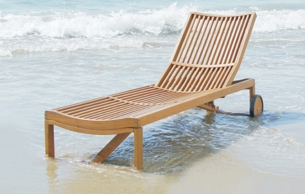 Picture of STOCKHOLM Adjustable Sun Lounger by Interbuild