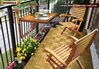 Picture of TORONTO 24 x 28 Balcony Table by Interbuild