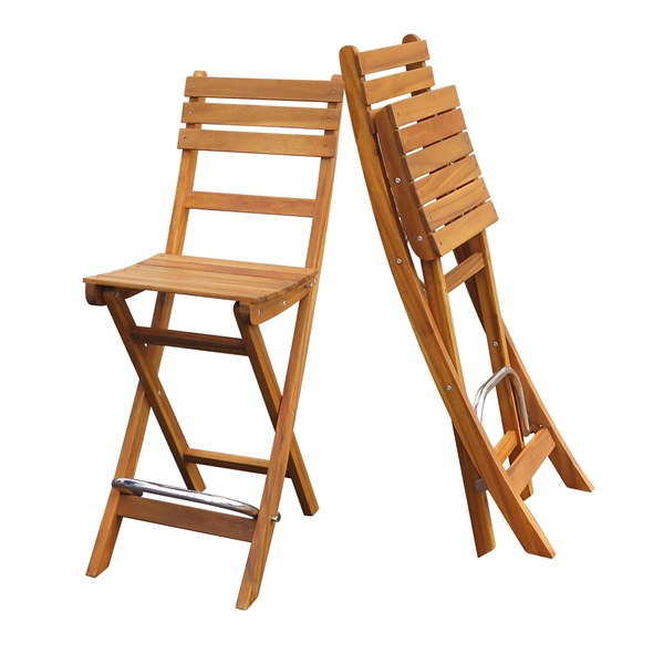 Picture of SOFIA Folding Bar Stools (2-Pack) by Interbuild